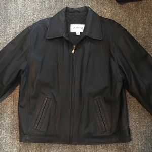Men's Leather jacket size L